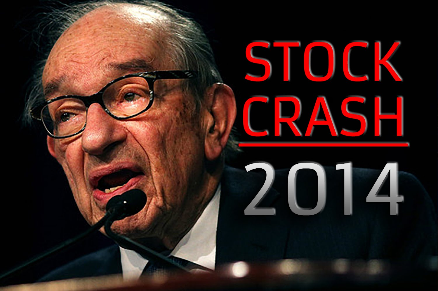 Alan Greenspan Predicts 'False Dawn' Stock Market Collapse 2014