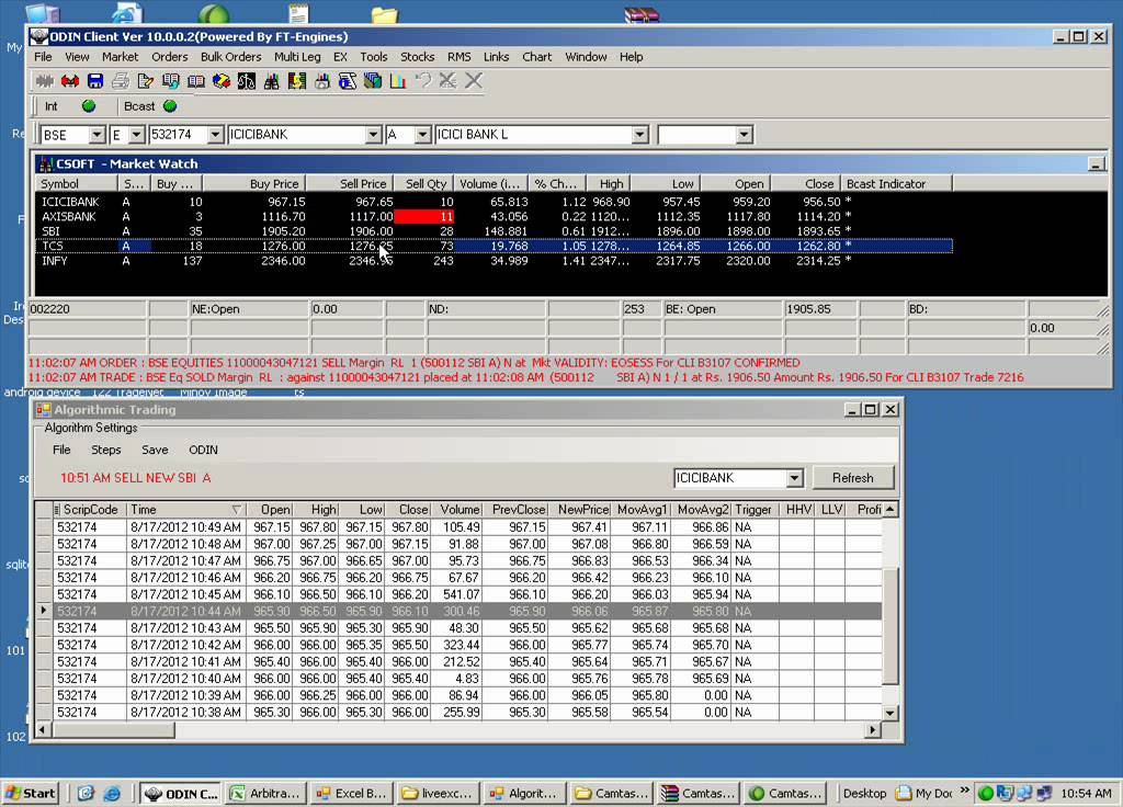 Auto Trading Software by Chirayu Software Solutions