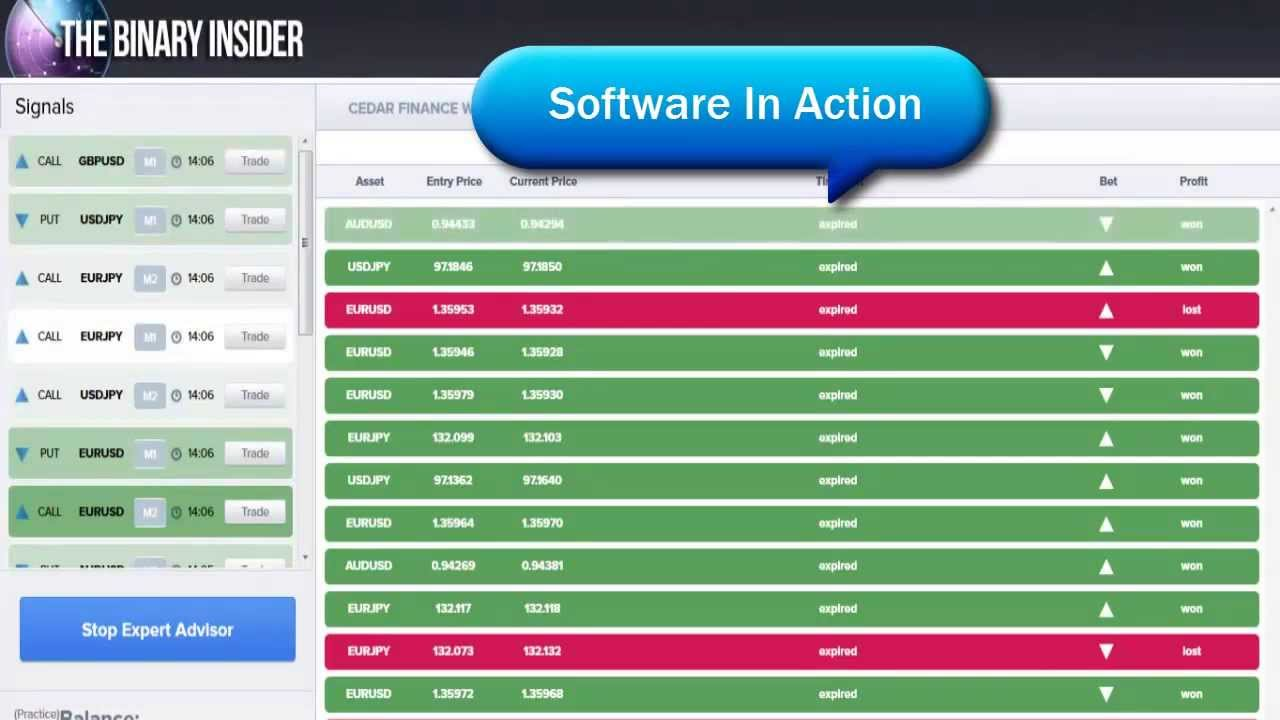 Binary Options Trading Live Signals Robot Free Download 2014- Automated Binary Options Software App