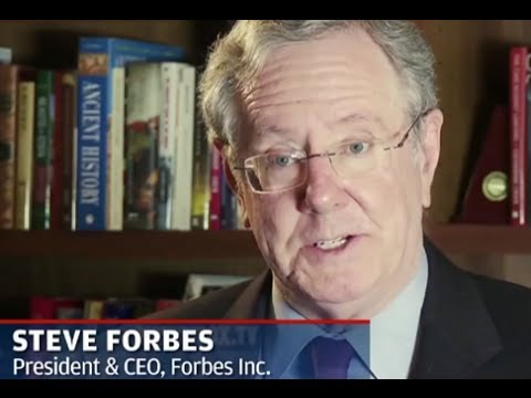 ECONOMIC COLLAPSE: Steve Forbes predicts a Stock Market Crash worse than 1930's
