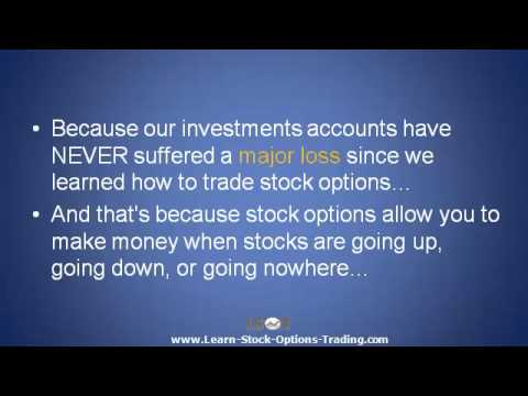 Explaining Stock Options Trading – There's a Way to Guarantee You Won't Lose Money