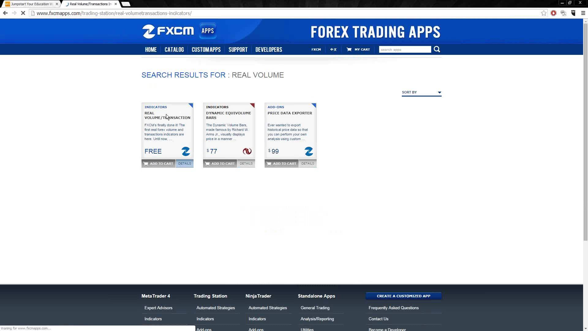 Forex Fast-Track I – Trading Software 10.9.2014
