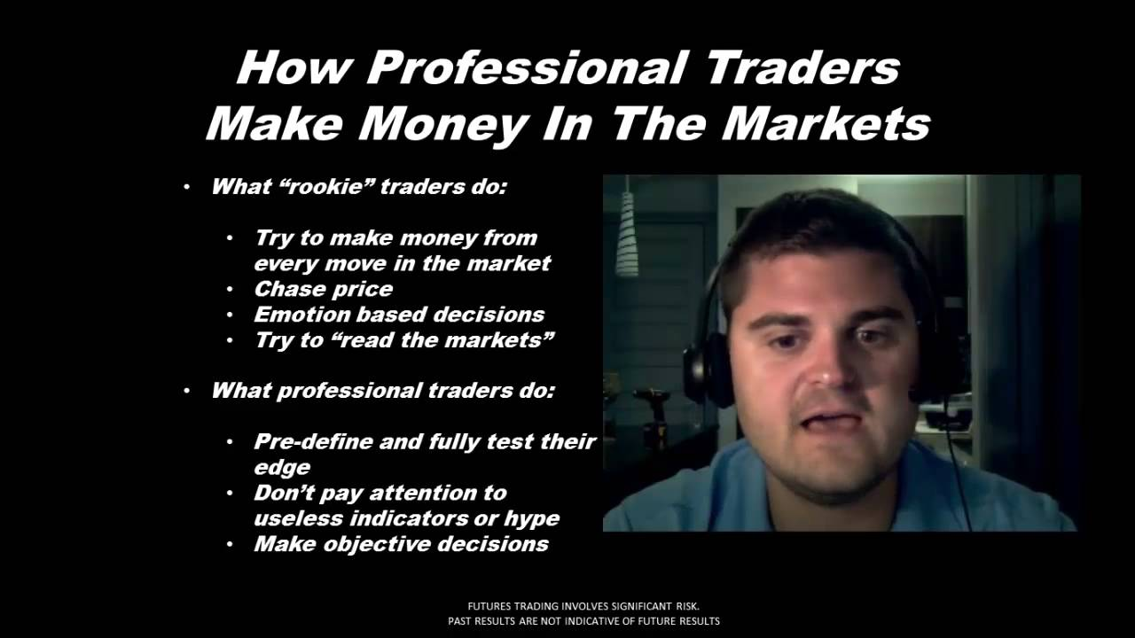 How Professional Traders REALLY Make Money In The Stock Market