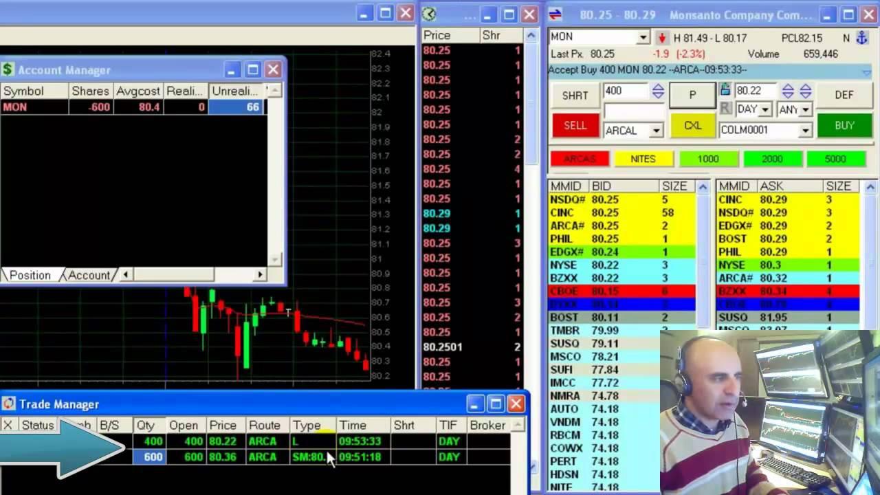 Stock Day Trading – $836 in 60 min – Meir Barak