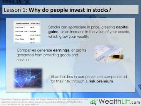 Stock Investing Lesson 1 – What is the Stock Market?