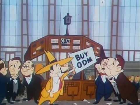 "Stock Market: ""What Makes Us Tick"" 1952 New York Stock Exchange 12min"