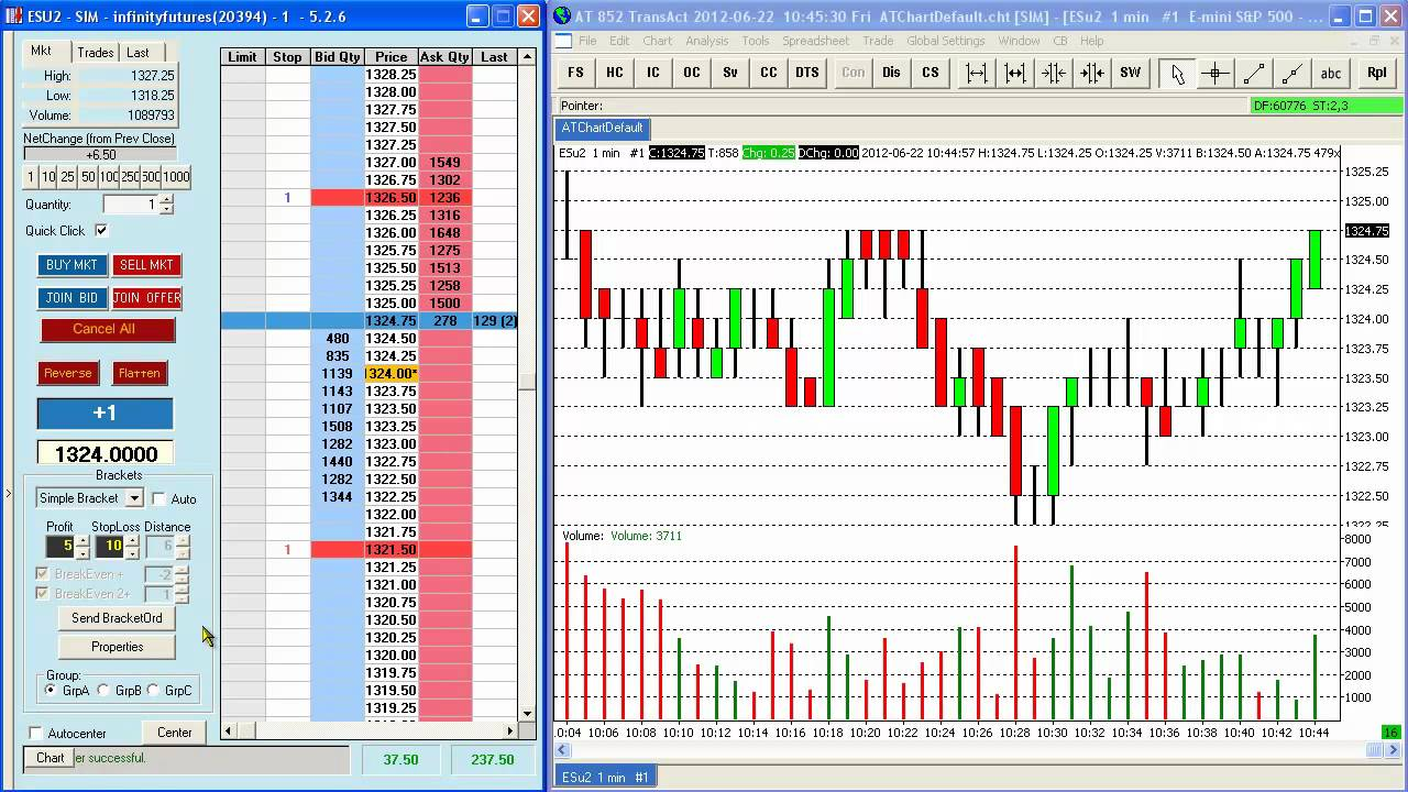 What is the E-mini S&P 500 Stock Index Futures market?