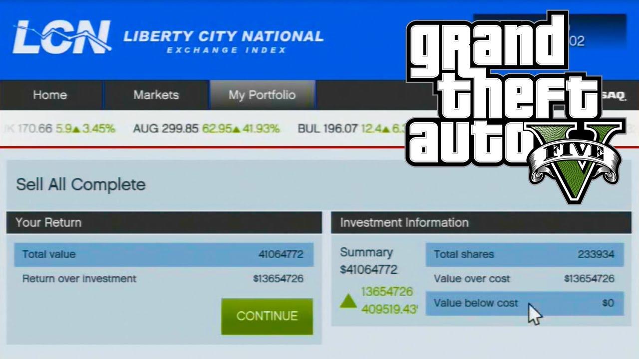 GTA 5 – How to Make Money Using The Stock Market Guide (GTA V)