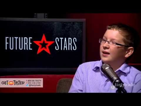 Youngest option trader talks stock market volatility and probability with Tom Sosnoff on tastytrade