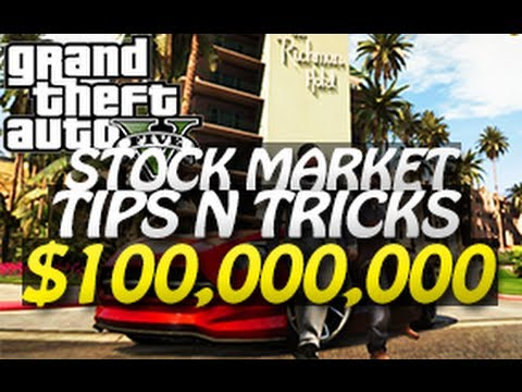 GTA 5 – $100,000,000 Stock Market Trick (Easy Money Tutorial)