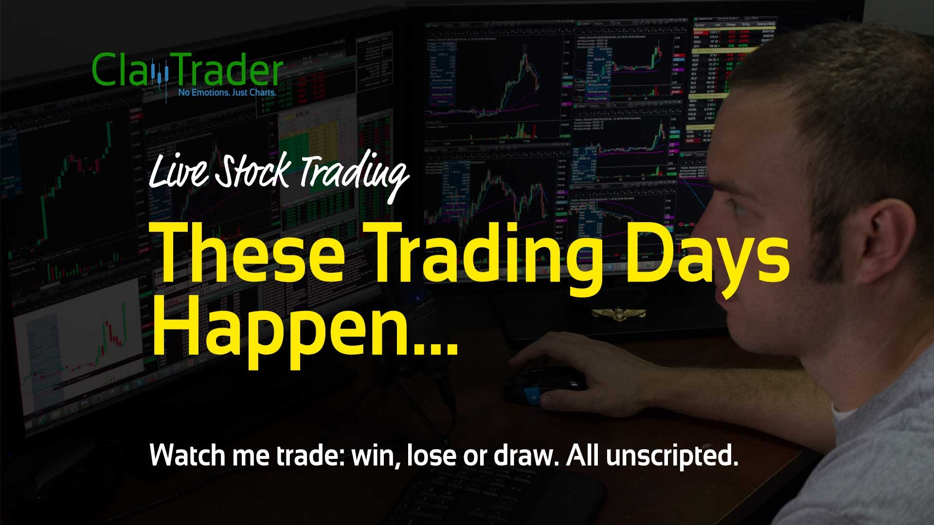 Live Stock Trades – These Trading Days Happen…