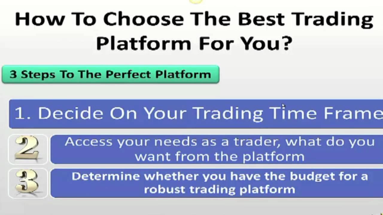 Online Trading Platfoms : A Beginner Investors Guide To Choosing The Right Online Trading Platform