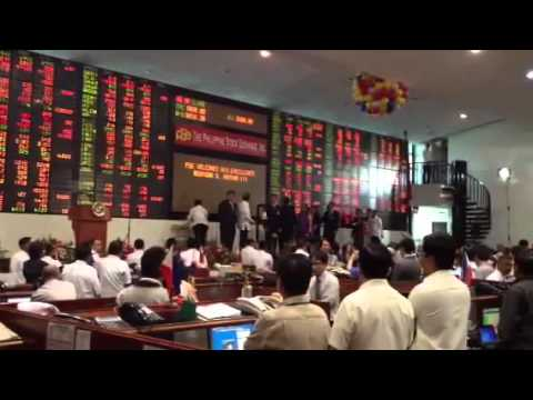Pres. Pinoy Ring the Bell for Philippine Stock Exchange 5000 High Index