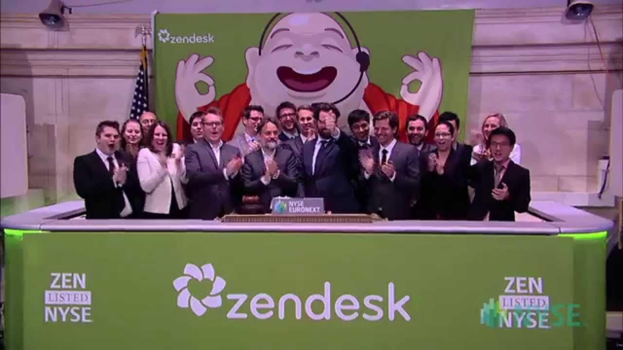 Zendesk Celebrates Public Debut on the New York Stock Exchange