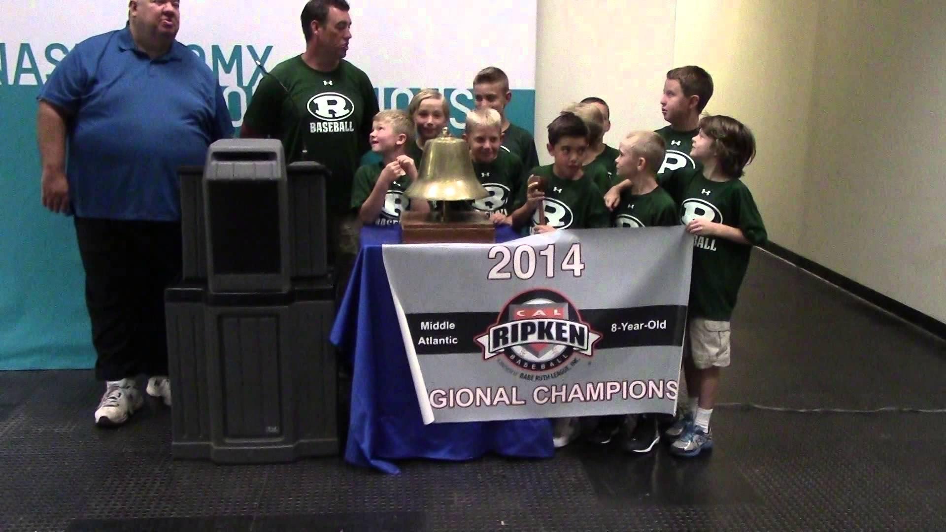 2014 Ridley 8u Cal Ripken Regional Champs – Philadelphia Stock Exchange Opening Bell