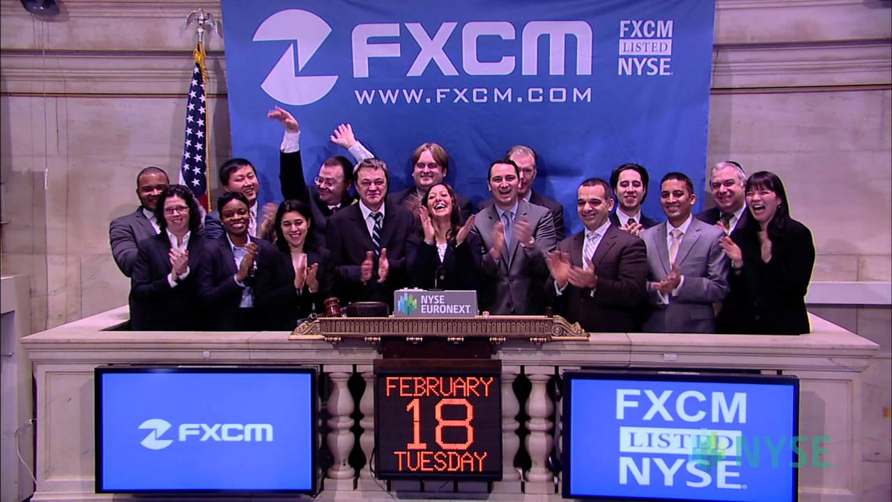 FXCM Visits the New York Stock Exchange