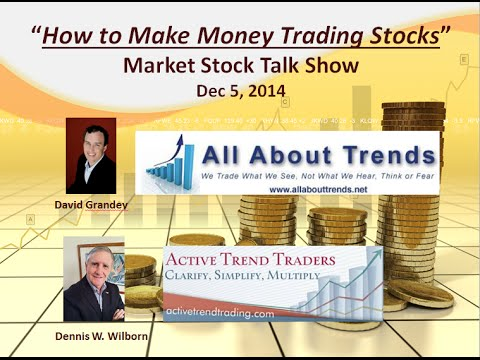 How to Make Money Trading Stocks  Market Stock Talk 12 5 14 How Much Further Up