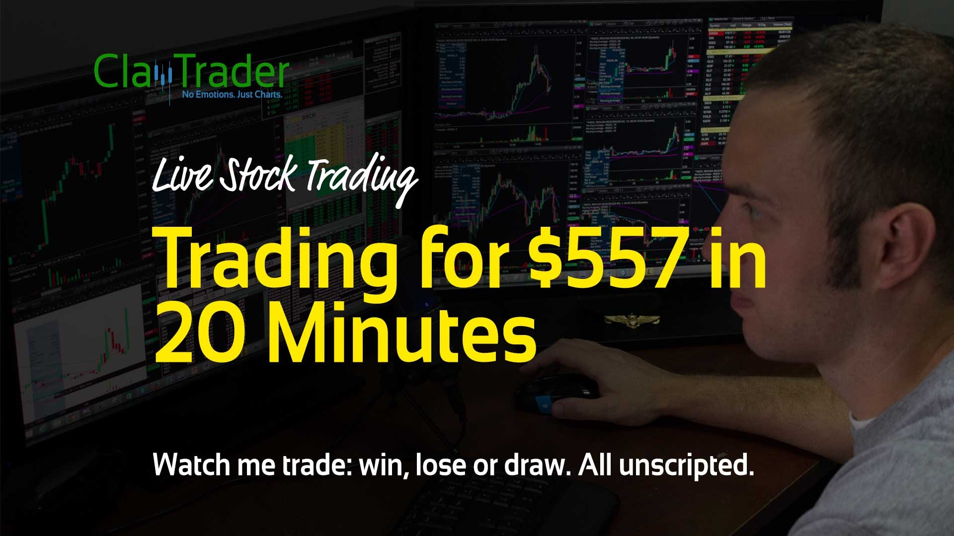 Live Stock Trades – Trading for $572 in 20 Minutes