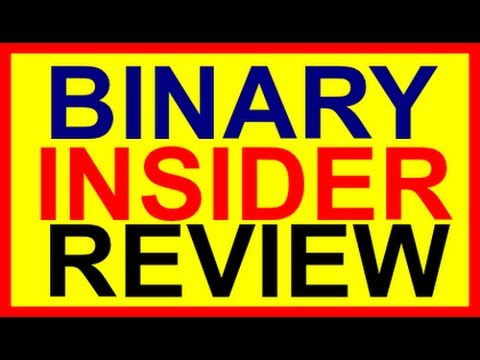 The Binary Insider Review-Binary Option Trading Signal Software 2014 Binary Insider By Rob Hertwell