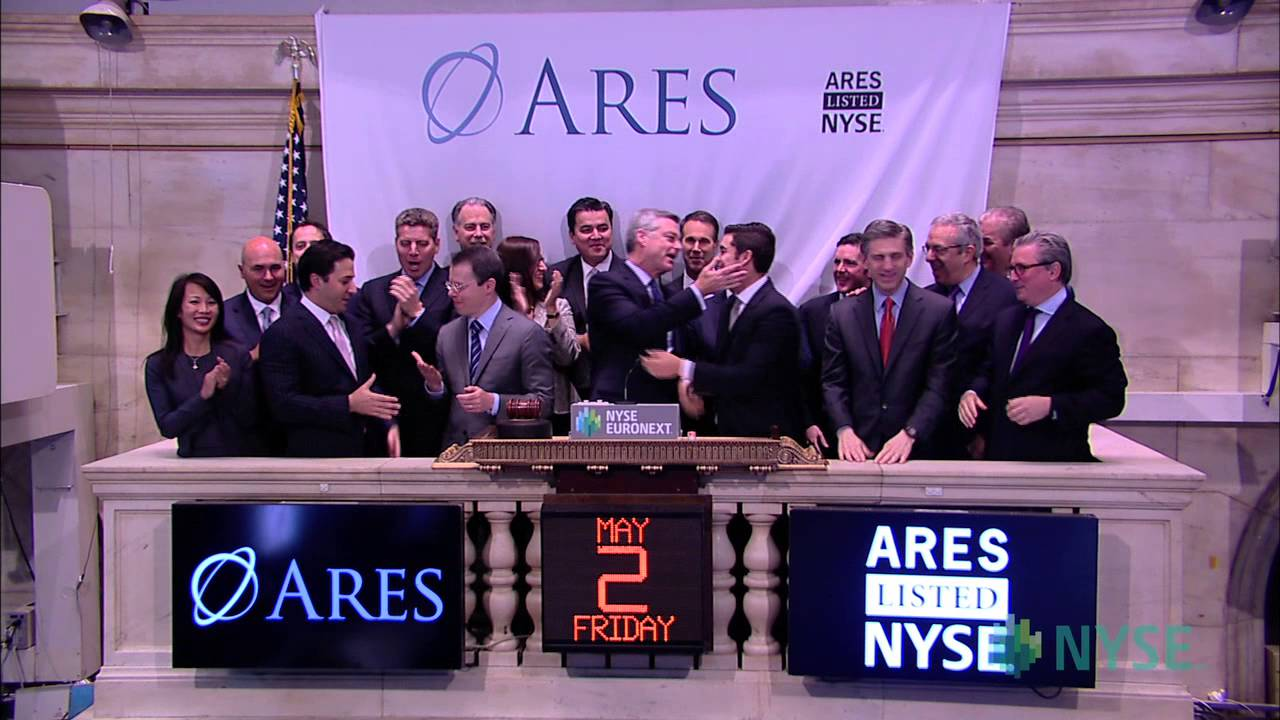 Ares Management Celebrates IPO on the New York Stock Exchange