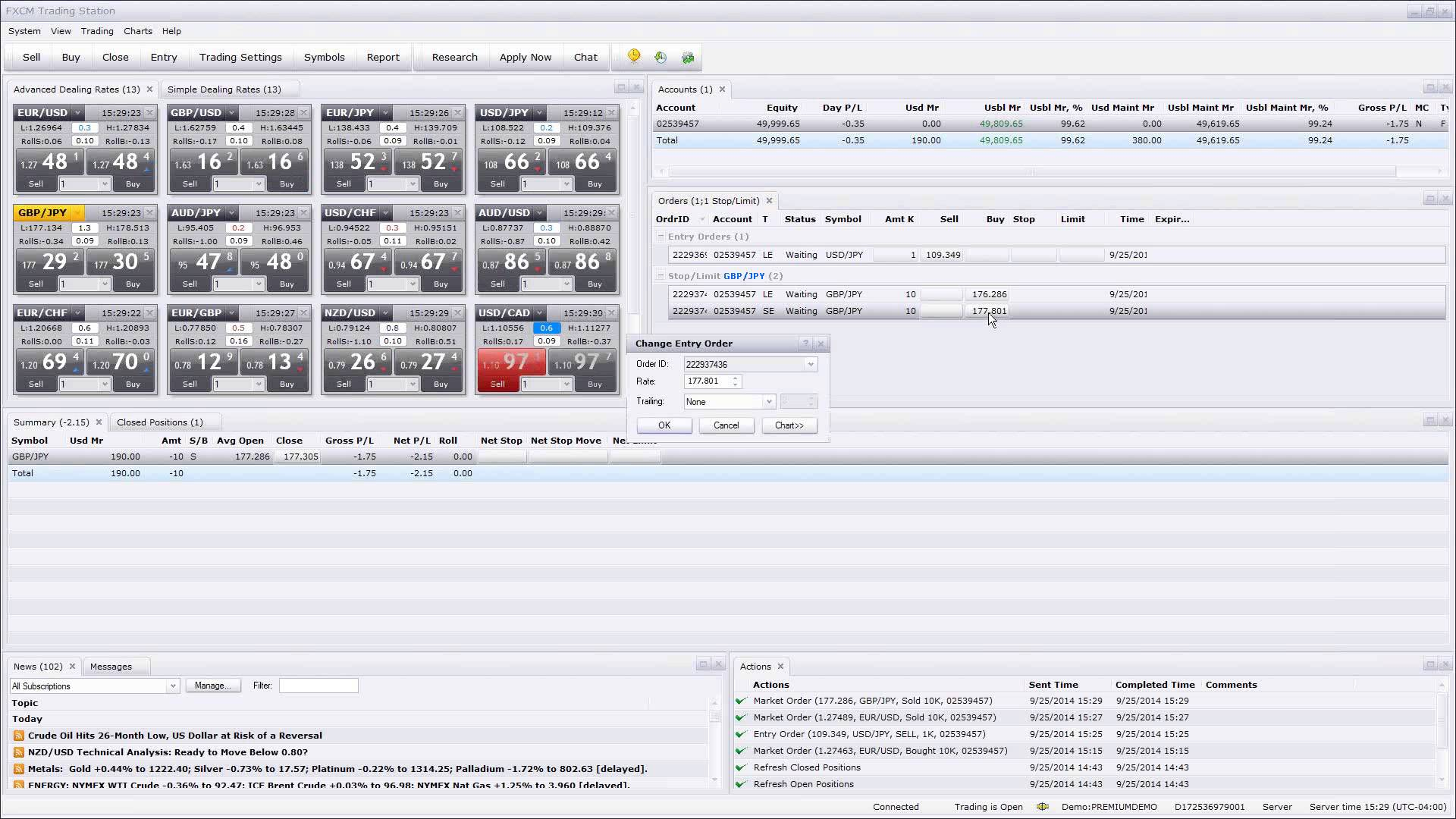 Forex Fast-Track I – Trading Software 9.25.2014