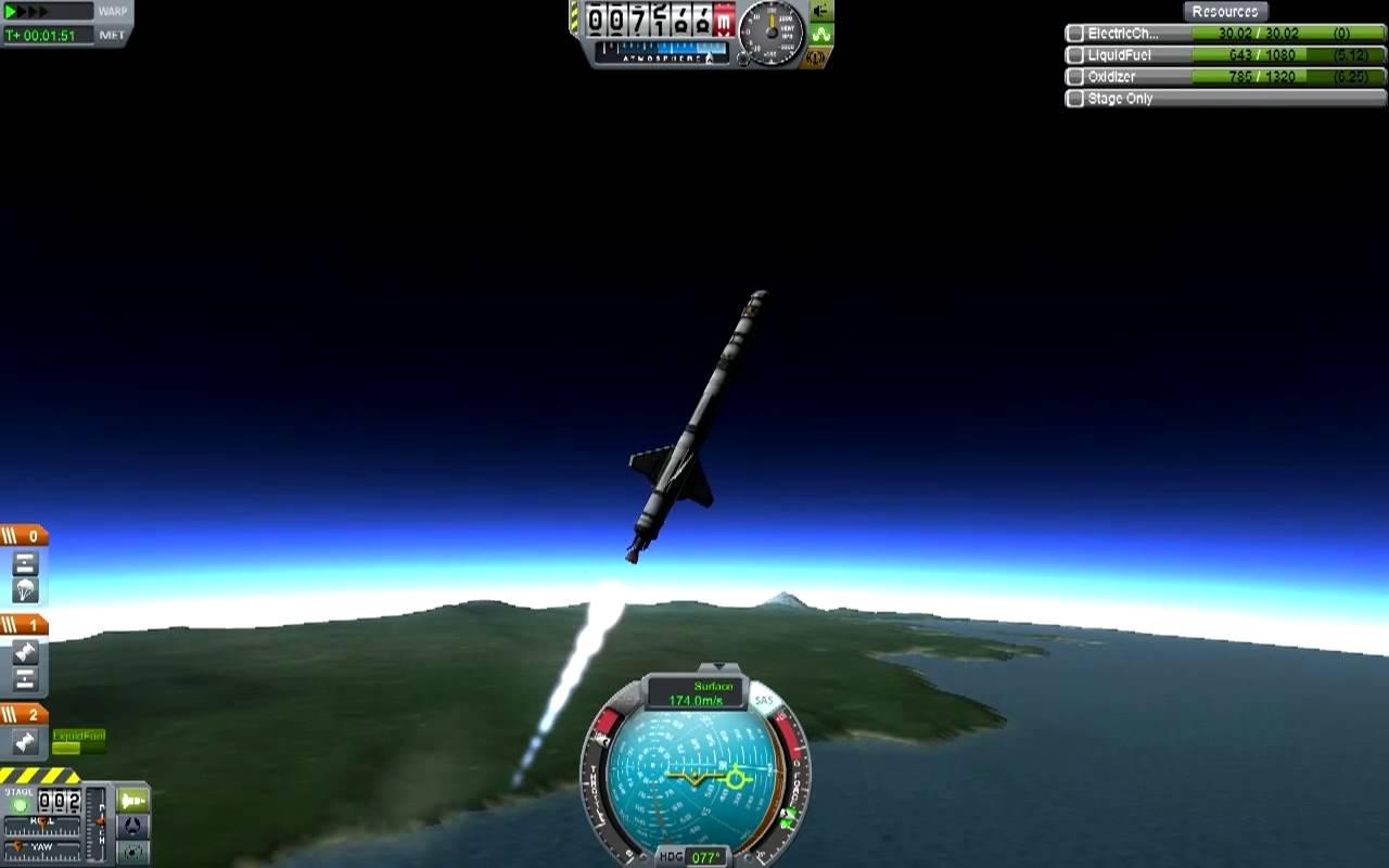 Kerbal Space Program (0.21 Stock) 001 – Back to Basics Part 1
