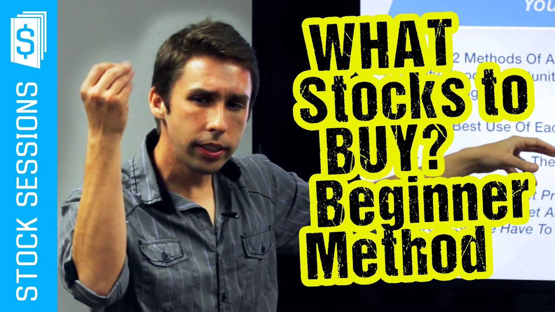 What Stocks To Buy? Warren Buffett For Beginners [Stock Market 101 Course #02-02]