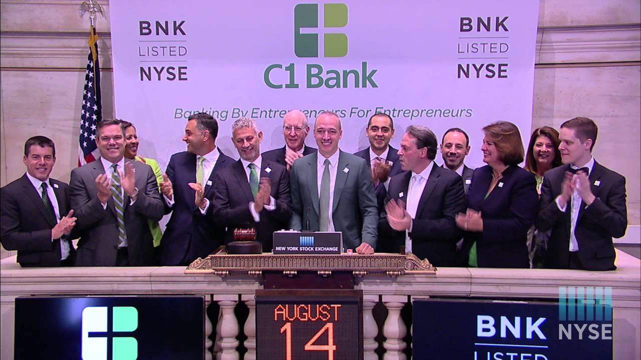 C1 Financial Lists IPO on the New York Stock Exchange