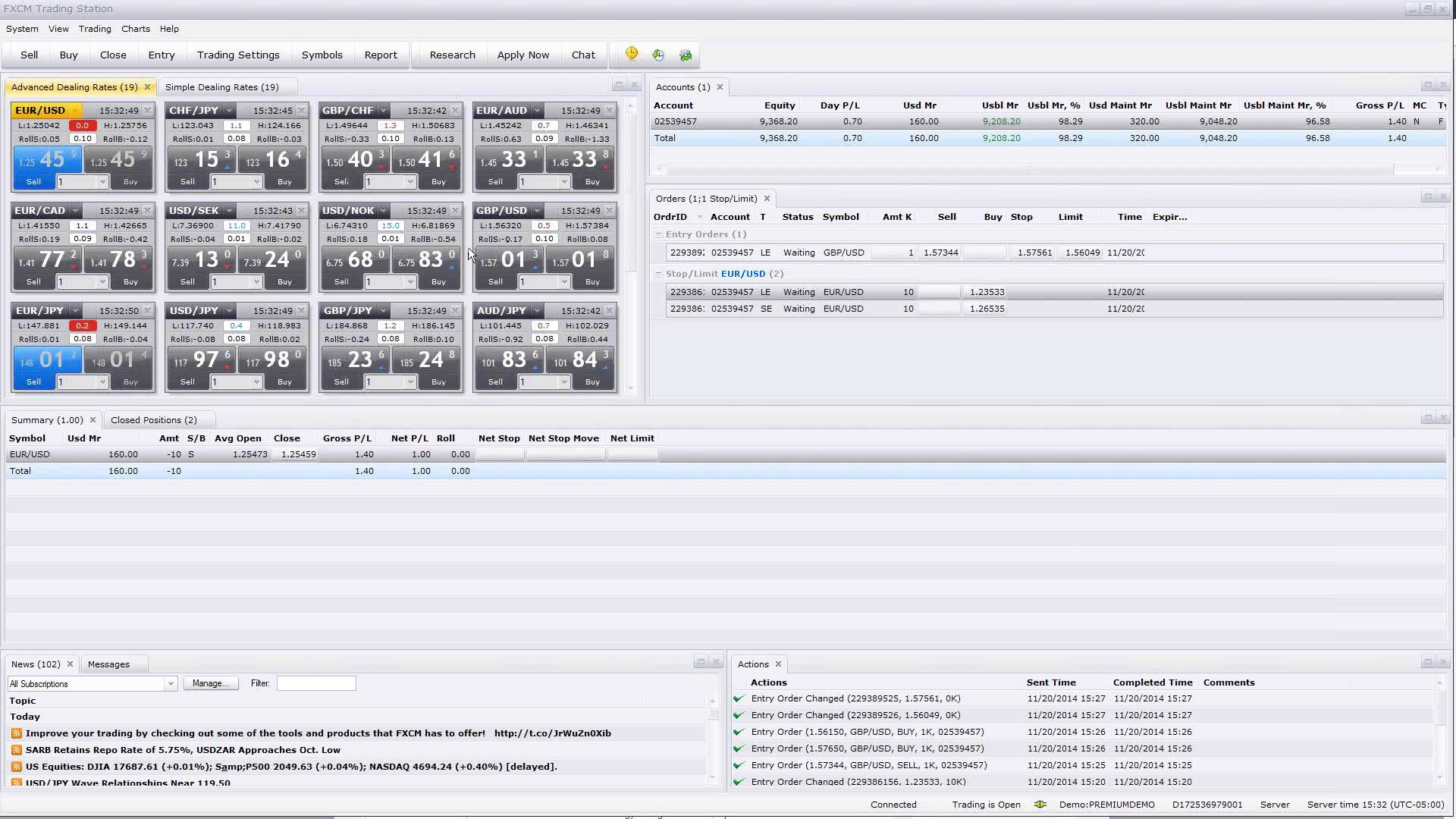 Forex Fast-Track I – Trading Software 11.20.2014