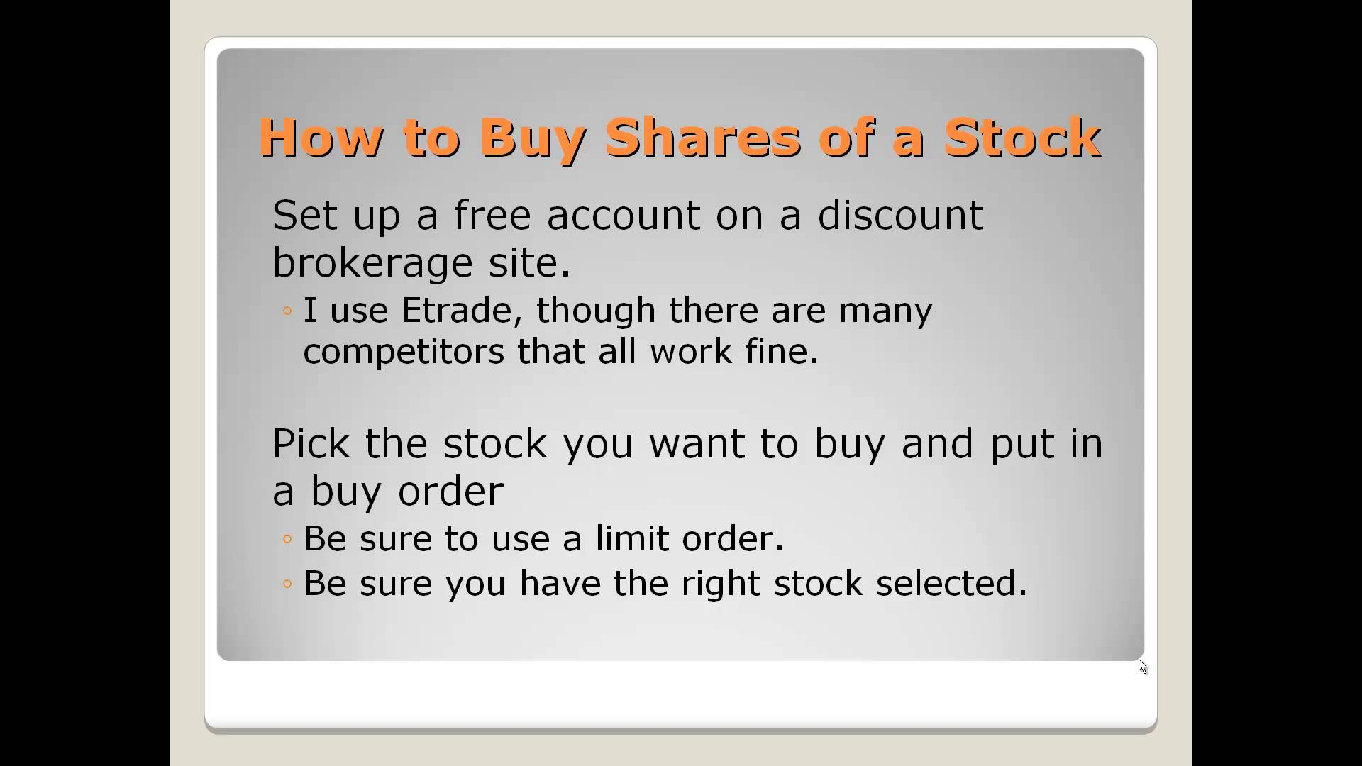 How the Stock Market Works: An Easy Video Explanation