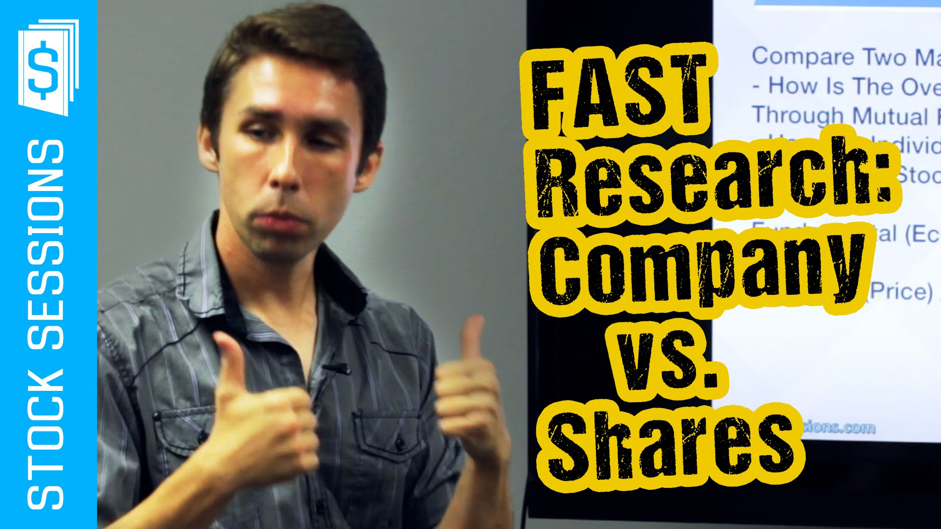 How to Research Stocks Fast: Company vs. Shares [Stock Market 101 Course #02-04]