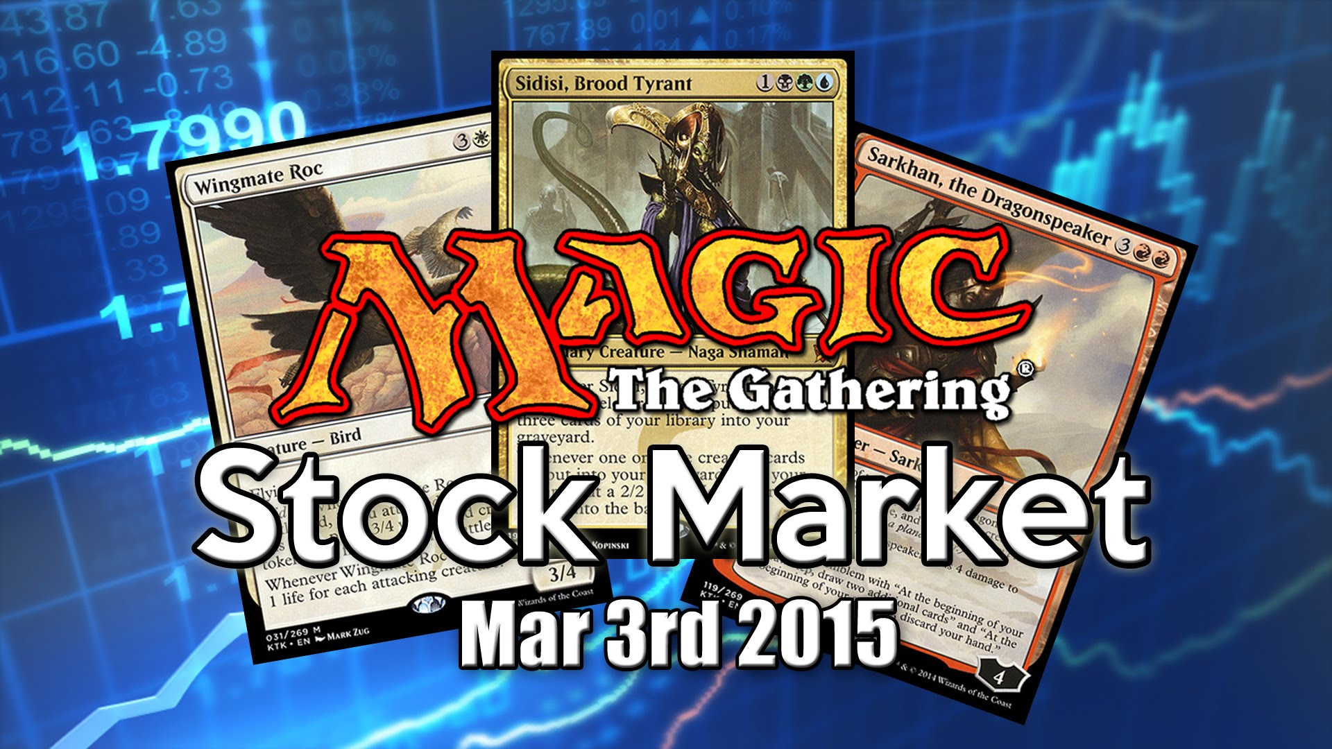MTG Stock Market – March 3rd 2015