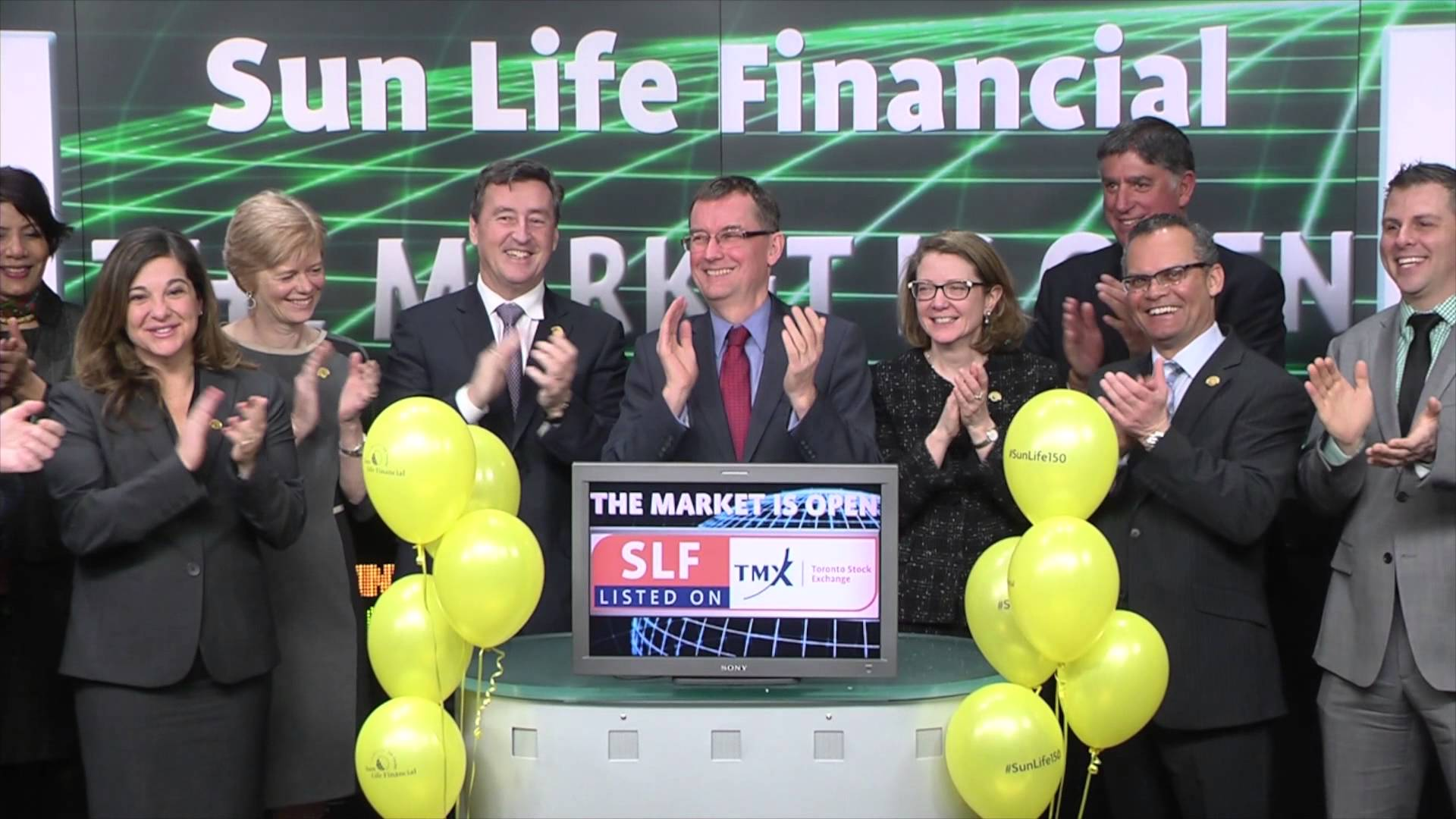 Sun Life Financial (TSX:SLF) opens Toronto Stock Exchange, March 2, 2015
