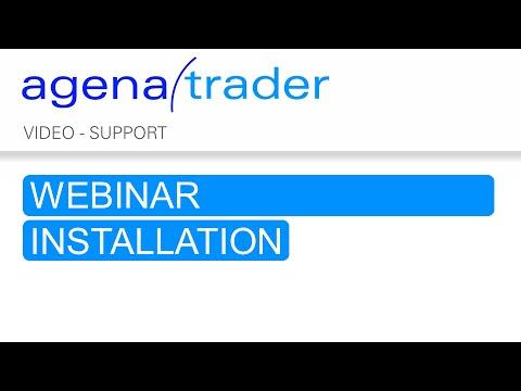 Trading Software AgenaTrader   Webinar AgenaTrader Installation 120518