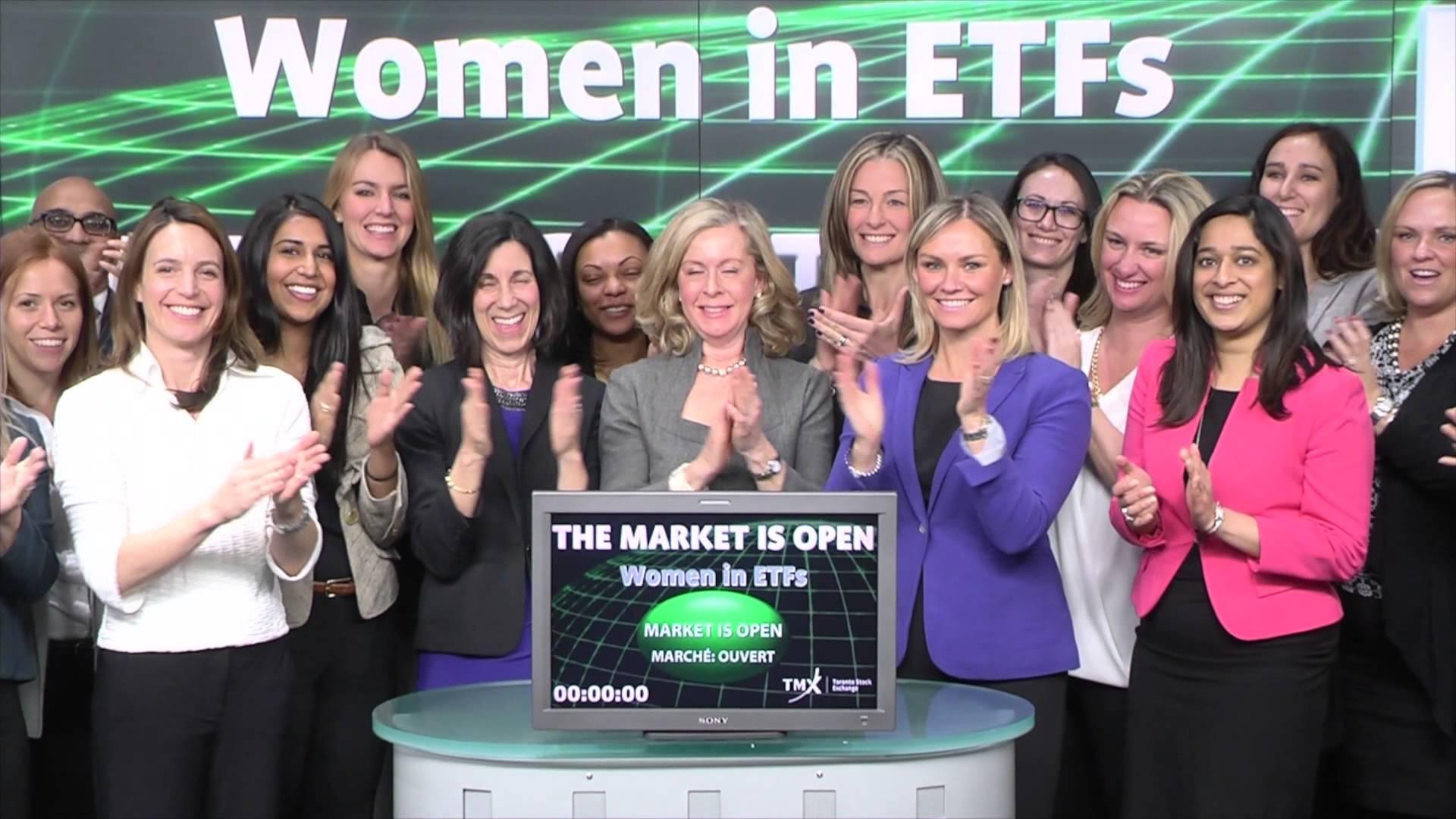 Women in ETFs opens Toronto Stock Exchange, March 6, 2015