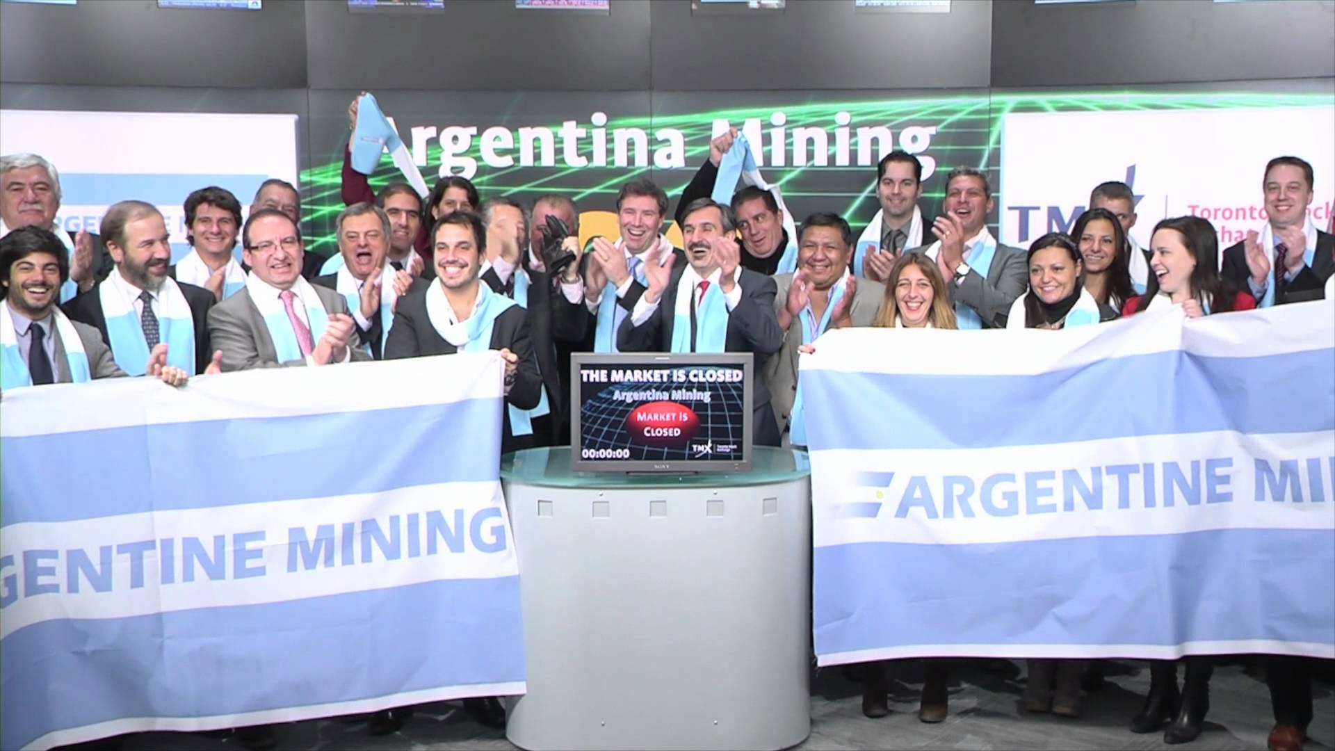 Argentina Mining closes Toronto Stock Exchange, March 4, 2015.