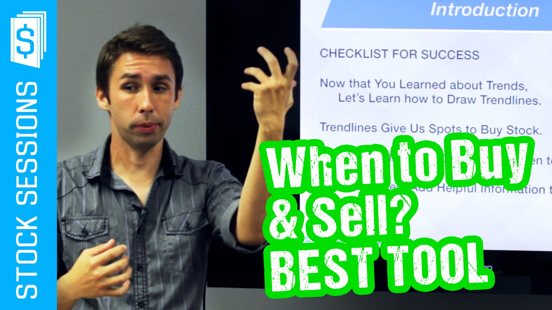 Best Tool to Know When to Buy & Sell Stocks [Stock Market 101 Course #06-01]