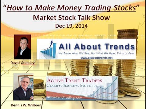 How to Make Money Trading Stocks  Market Stock Talk 12 19 14