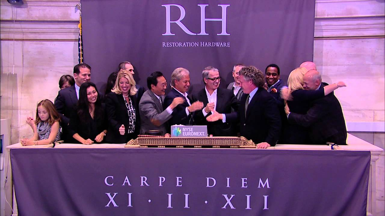 Restoration Hardware Holdings, Inc. Lists on the New York Stock Exchange 1