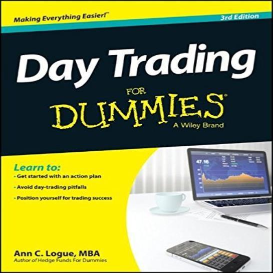 Day Trading For Dummies Book By Ann C. Logue English Paperback 360 Pages Stocks