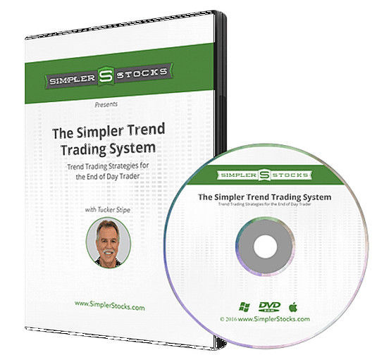 Simpler Stocks Automated Trend Trading System by Tucker Stipe + Indicators!