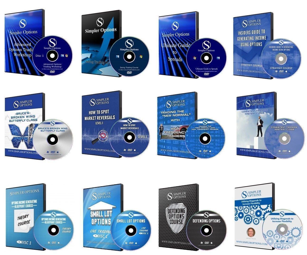 Simpler Options, Simpler Trading, Simpler Stock – 35 x Courses Megapack!!!
