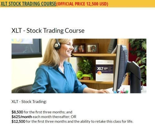 STOCK TRADING COURSE – ONLINE TRADING ACADEMY XLT (STOCK TRADING + MASTERY FULL