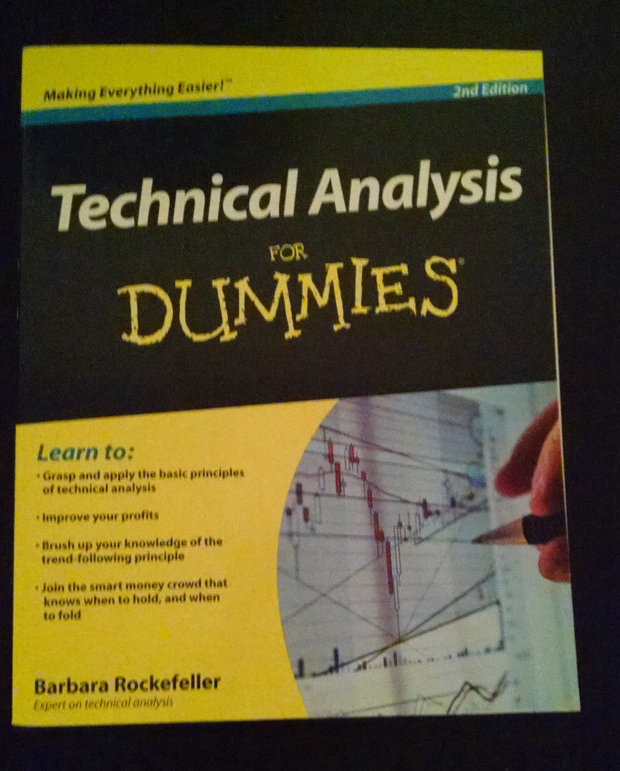 Technical Analysis for Dummies Barbara Rockefeller tutorial book stocks trade
