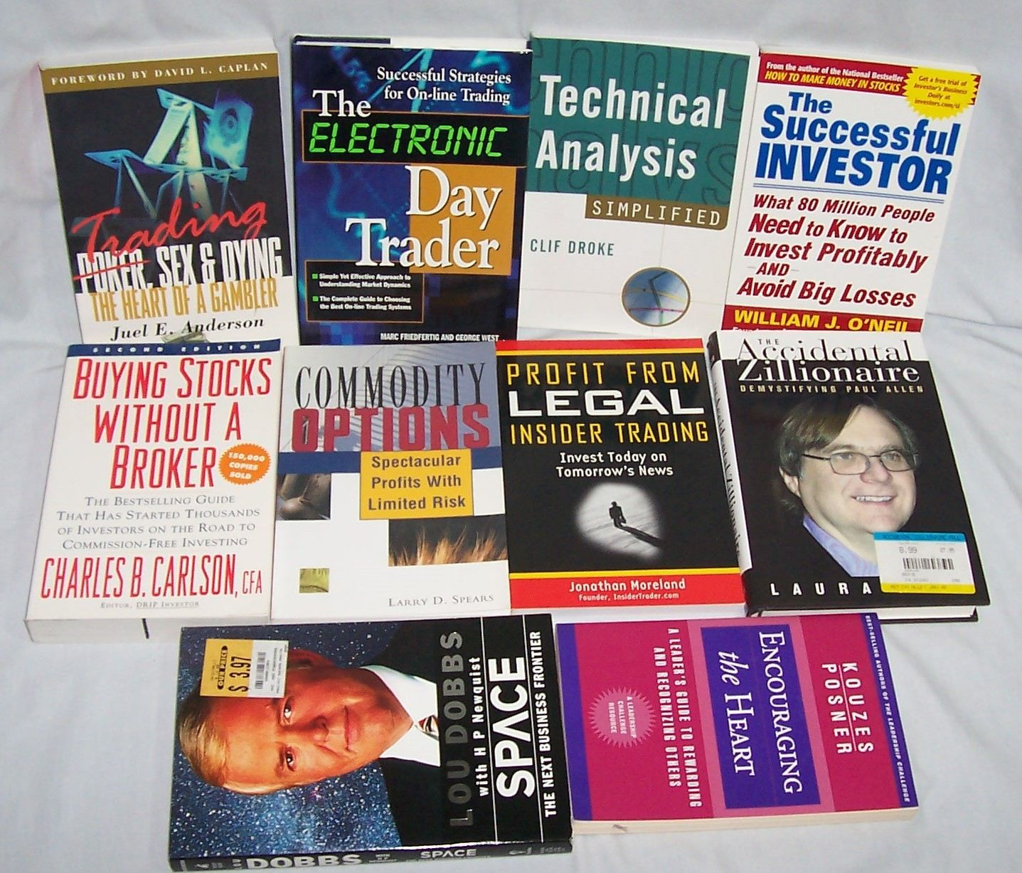 Lot of 15 Books Commodity Trading Stocks Investing Business Day Trader Markets