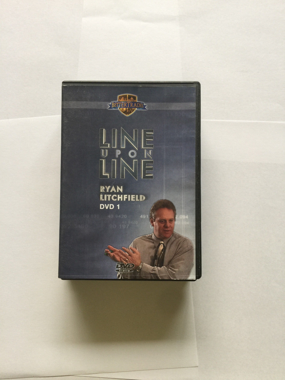 Ryan Litchfield Line Upon Line 4 DVD Better Trades Stock Market Online Trading