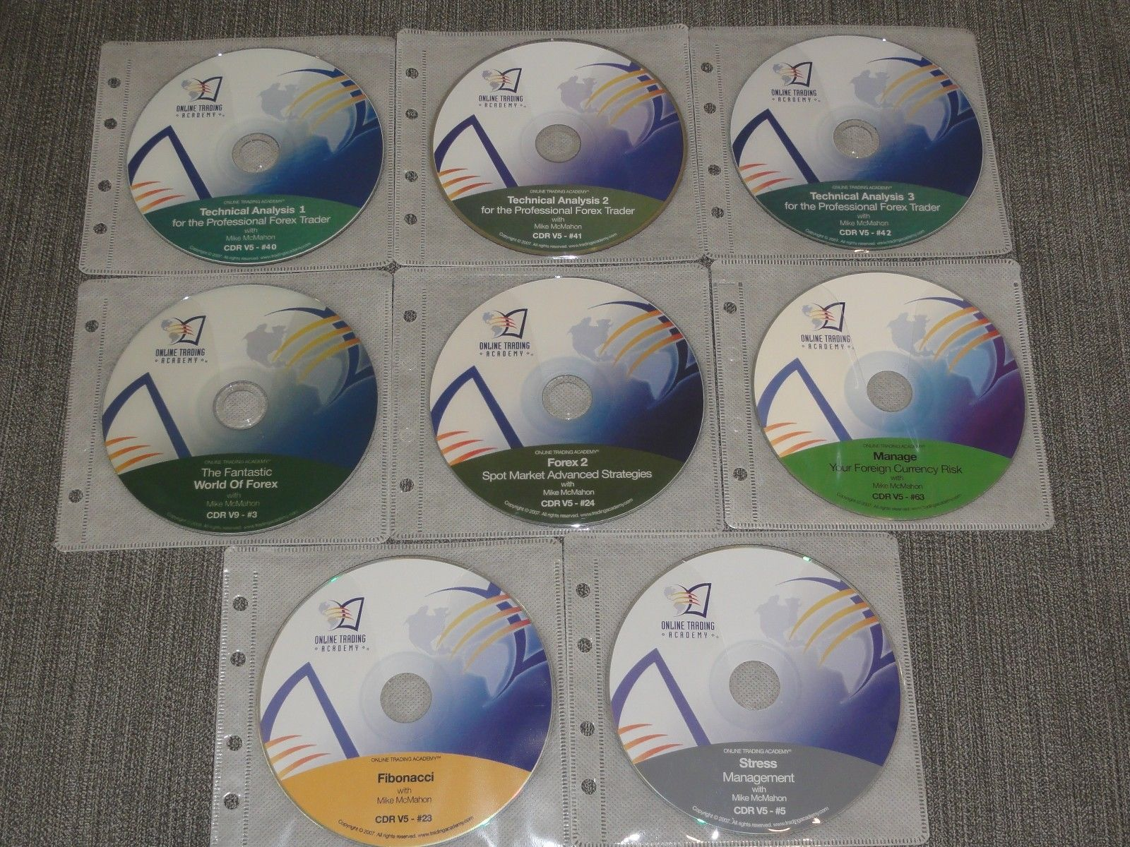 Online Trading Academy – Professional Forex Trader Series 8 CD Set stock market