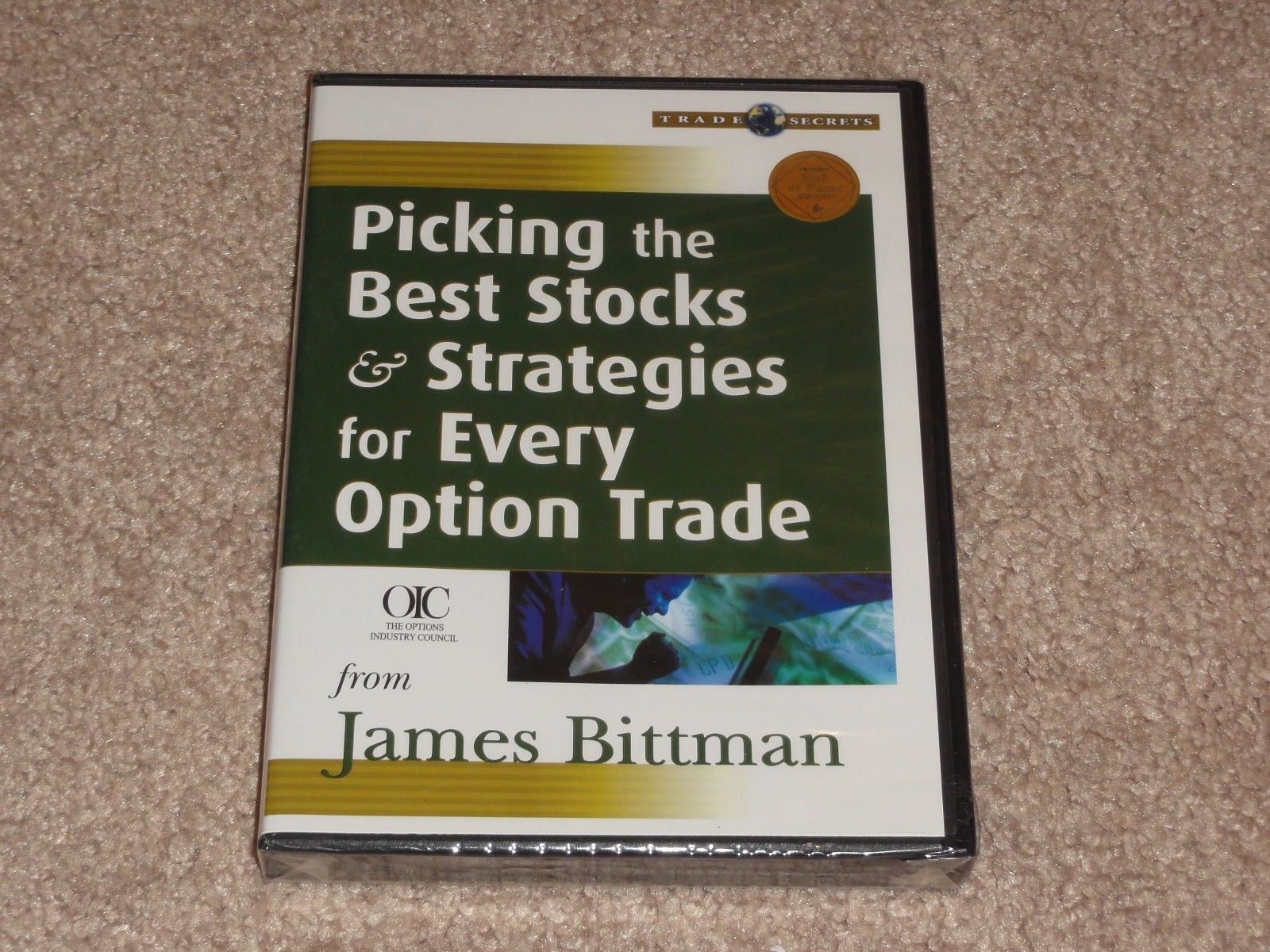 James Bittman Picking the Best Stocks DVD simpler options online trading academy