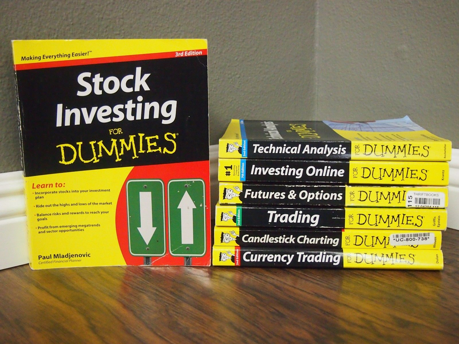 For Dummies Mix Lot of 7 Financial Topics – Trading, Stock Investing, and more