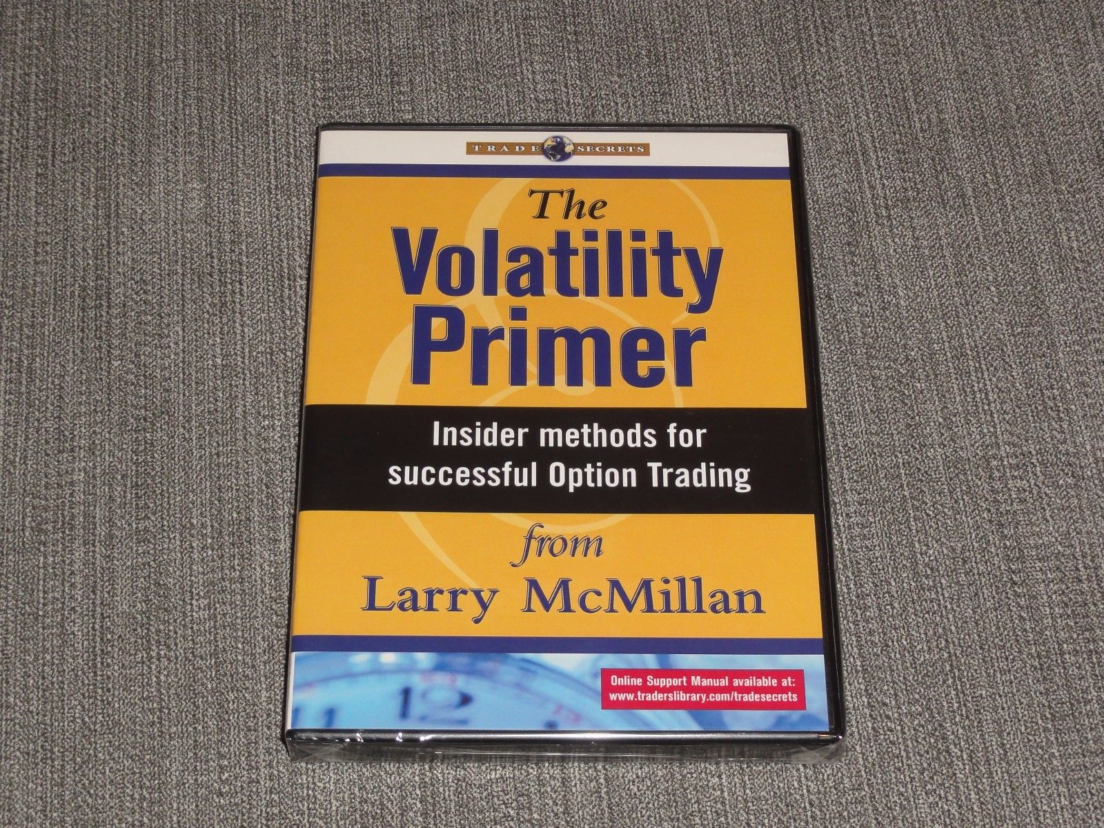 Larry McMillan – The Volatility Primer DVD stock options trading course forex fx
